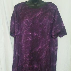 Michael Kors Purple Midi Dress